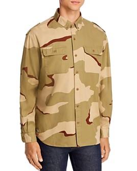 Lacoste - Camo Regular Fit Button-Down Shirt - 100% Exclusive