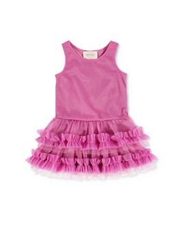 Hannah Banana - Girls' Ruffled Tutu Dress - Little Kid
