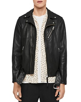 ALLSAINTS - Rigg Leather Biker Jacket