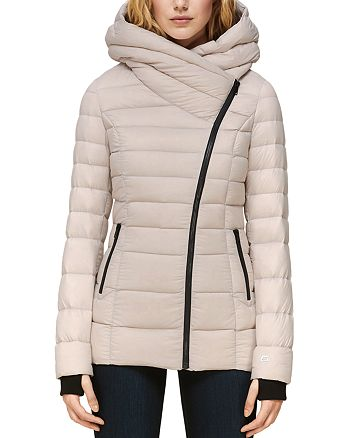 Soia & Kyo - Jacinda Asymmetric Lightweight Down Coat
