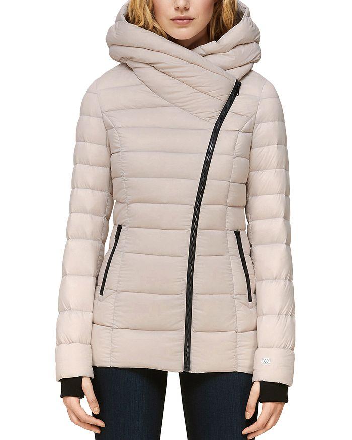 Soia & Kyo - Jacinda Asymmetric Lightweight Down Coat
