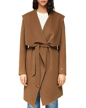 Soia & Kyo - Draped Double-Face Wool-Blend Coat