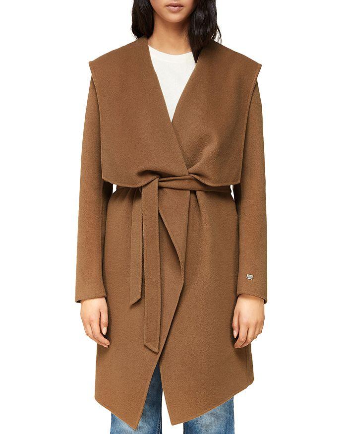 Soia & Kyo - Draped Double-Face Wool-Blend Coat