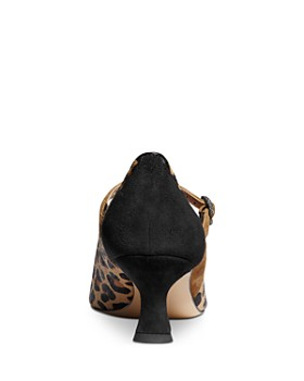 COACH - x Tabitha Simmons Women's Edith Leopard-Print Mary Jane Pumps