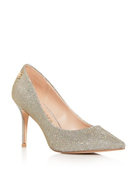 Kurt Geiger - Women's Penina Glitter Pointed-Toe Pumps
