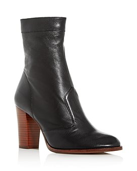 MARC JACOBS - Women's Sofia Loves The Ankle Block-Heel Boots