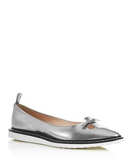 MARC JACOBS - Women's The Mouse Shoe Demi-Wedge Flats