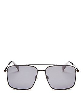 rag & bone - Men's Brow Bar Aviator Sunglasses, 57mm
