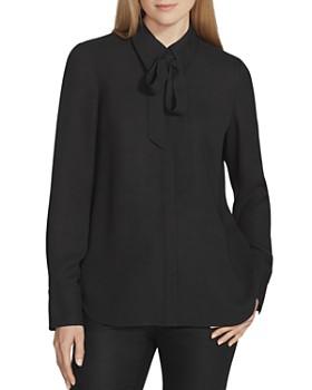 Lafayette 148 New York - Diana Silk Tie-Neck Blouse