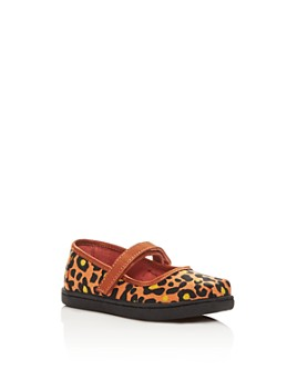 TOMS - Girls' Cheetah-Print Mary Jane Flats - Baby, Walker, Toddler