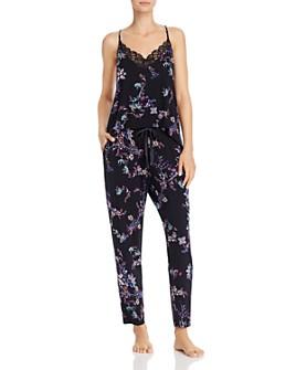 Josie - Floral Camisole & Pants Pajama Set