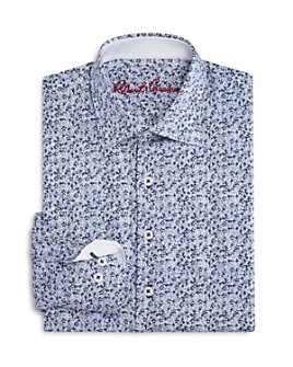 Robert Graham - Boys' Nibley Floral Dress Shirt - Big Kid