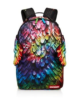 Sprayground - Girls' Winged Rainbow Backpack