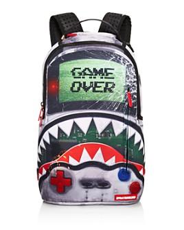 Sprayground - Boys' Game Over Shark Backpack