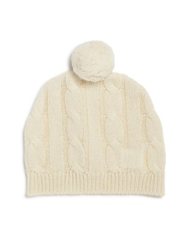 Bloomie's - Unisex Cashmere Pom-Pom Hat, Baby - 100% Exclusive