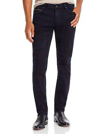 John Varvatos Collection - Chelsea Slim Fit Jeans in Dark Indigo