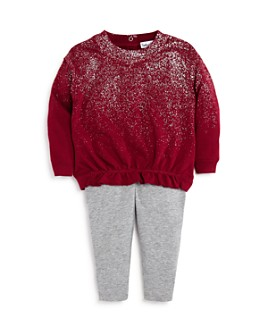 Splendid - Girls' Metallic Spray Top & Leggings Set - Baby