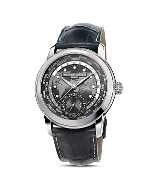 Frederique Constant Classic Worldtimer Watch