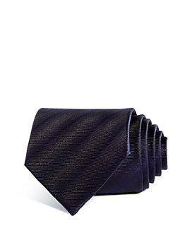 Armani - Tonal Stripes Silk Wide Tie