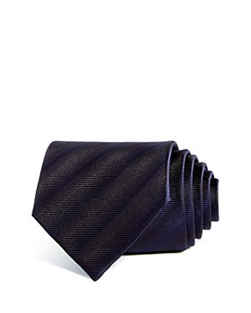 Armani - Tonal Stripes Silk Wide Tie