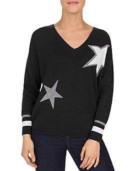 Gerard Darel - Sidony Star-Motif Wool & Cashmere Sweater