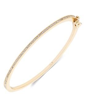 Ralph Lauren - Pavé Hinge Bangle Bracelet