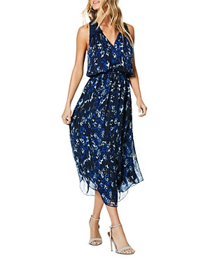 Ramy Brook Dresses MOE PRINTED SILK DRESS