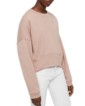ALLSAINTS - Enrico Cropped Sweatshirt