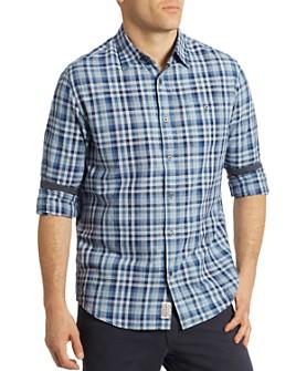 Flag & Anthem - Clayton Pocket Plaid Regular Fit Button-Down Shirt