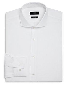 BOSS - Solid Sharp Fit Dress Shirt