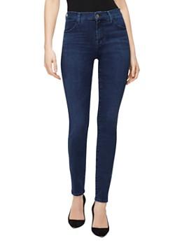 J Brand - Maria High-Rise Skinny Jeans in Radiowave