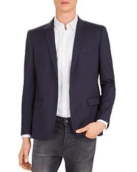 The Kooples - Woolen Lines Slim Fit Blazer