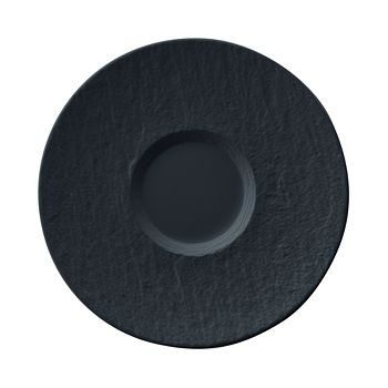Villeroy & Boch - Manufacture Rock Black Tea/Coffee Cup Saucer