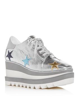Stella McCartney - Women's Scarpa Platform Wedge Sneakers