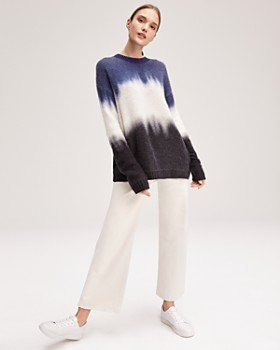 C by Bloomingdale's - Dip-Dye Brushed Cashmere Sweater - 100% Exclusive