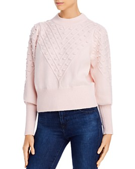 FRENCH CONNECTION - Bobble Knits Cropped Popcorn Sweater