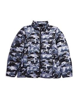 AQUA - Girls' Packable Camo Puffer Jacket, Big Kid - 100% Exclusive