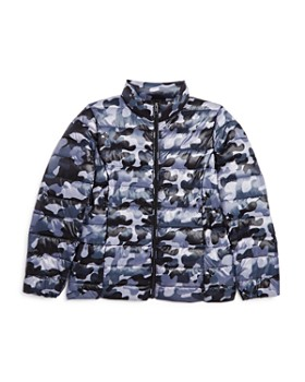 AQUA - Girls' Packable Camo Puffer Jacket, Big Kid - 100% Exclusive