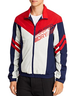 Superdry - Off-Piste Color-Block Graphic Logo Track Jacket