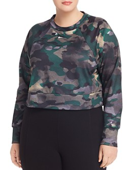 Nike Plus - Dri-FIT Camouflage Cropped Training Top