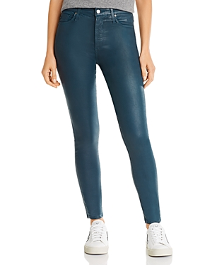 Ag Farrah Faux-Leather Skinny Jeans