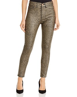 7 For All Mankind - High-Waisted Ankle Skinny Jeans