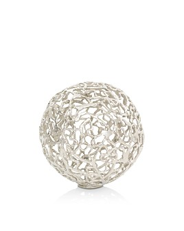Mitchell Gold Bob Williams - Small Metal Orb Sculpture