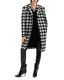 Barbara Bui - Oversized Houndstooth-Print Coat