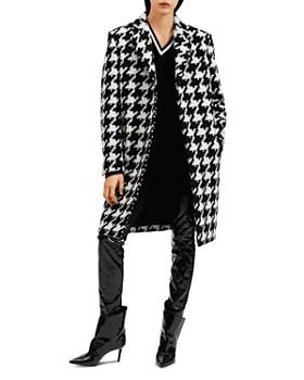 Barbara Bui - Oversized Houndstooth-Print Coat