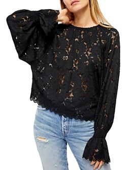 Free People - Olivia Lace Top