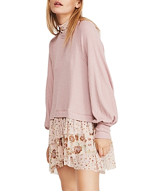 Free People Opposites Attract Layered-Look Dress