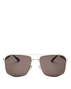 Dior - Men's Dior180 Brow Bar Aviator Sunglasses, 60mm
