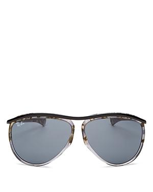 Ray-Ban Men's Olympian Aviator Sunglasses, 59mm