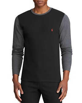 Polo Ralph Lauren - Color-Block Long-Sleeve Crewneck Tee